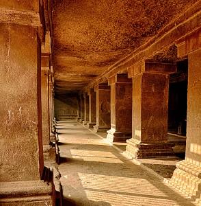 Pataleshwar Cave Temple Inside Corridors