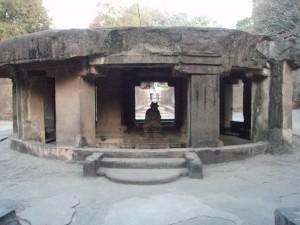 Pataleshwar Cave Temple Nandi