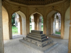 Qutb Shahi Tomb Inside View