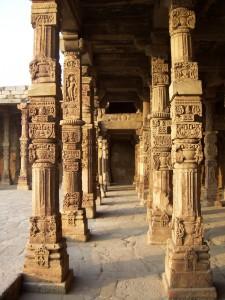 Qutub Minar Inside