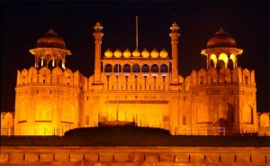 Red Fort at Night