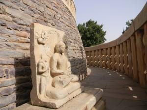Sanchi Stupa Inside