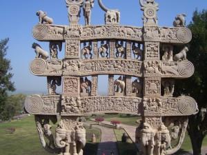 Sanchi Stupa Torana