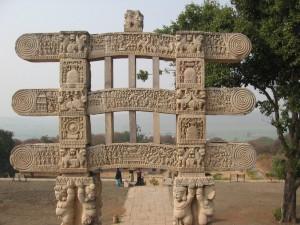 Sanchi Stupa Torana Images