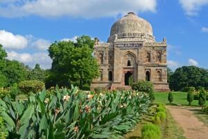 Shisha Gumbad in Lodhi Gardens
