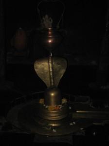 Shivalinga Inside Pataleshwar Cave Temple