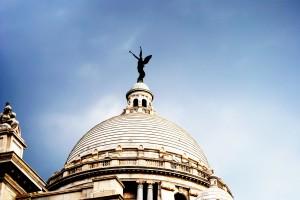 Statue of Victoria Memorial Angel