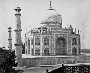 Taj Mahal Old Photos (1860)
