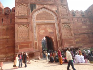 The Second Gate of The Agra Fort