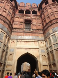 Third And Innerrmost Gate Of The Agra Fort