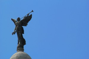 Victoria Memorial Angel Statue