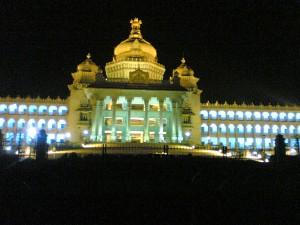 Vidhana Soudha at Night