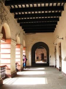 Ahsan Manzil Inside Corridor
