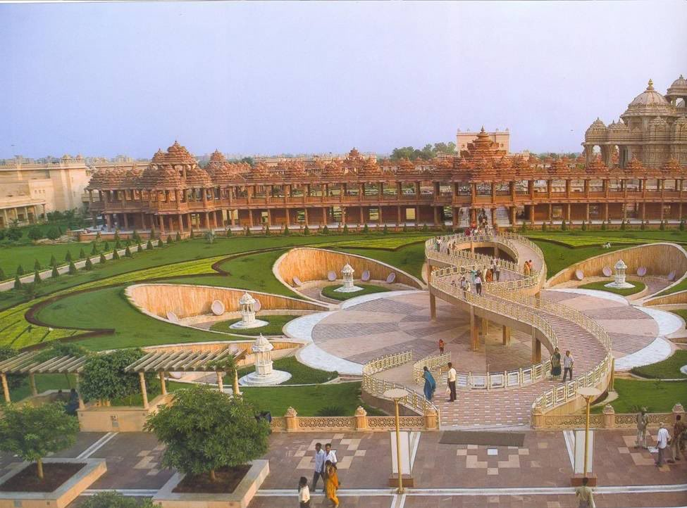Akshardham delhi historical facts and pictures the history hub akshardham lotus thecheapjerseys