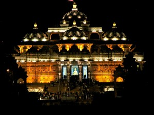 Akshardham Night