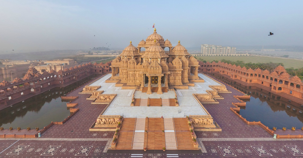 Akshardham Delhi Historical Facts And Pictures The