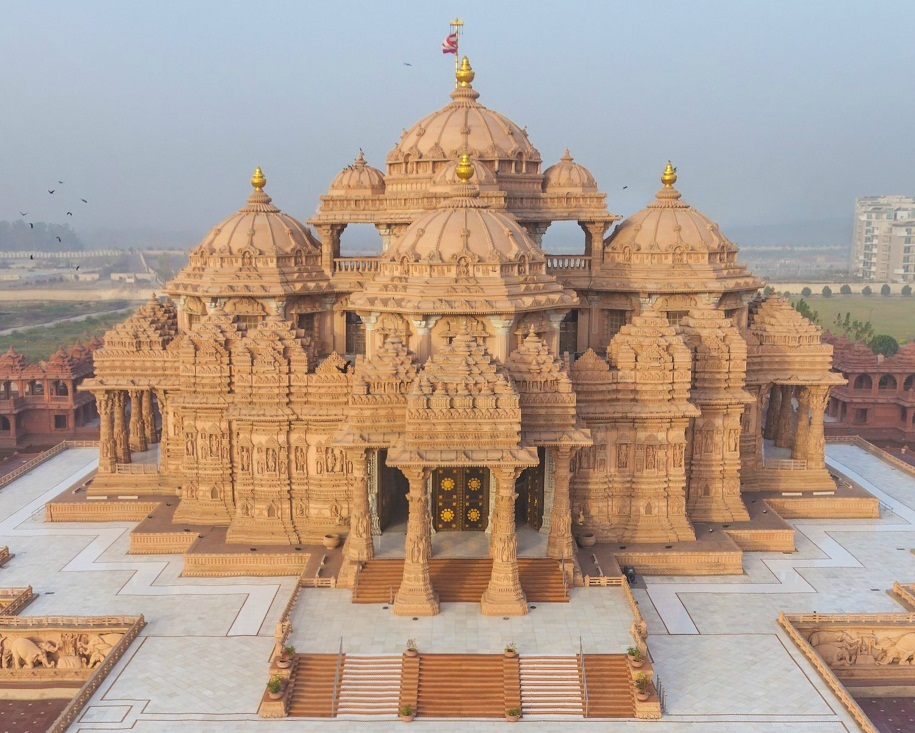 Akshardham delhi historical facts and pictures the Indian building photos