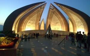 At Night Pakistan National Monument