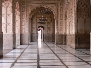Badshahi Mosque Inside