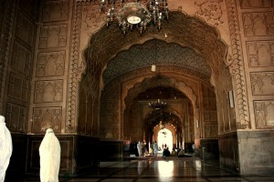 Badshahi Mosque Inside Pictures