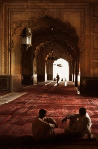 Badshahi Mosque Inside View
