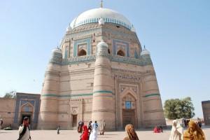 Bahauddin Zakariya Mausoleum Inside