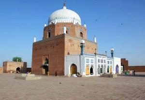 Bahauddin Zakariya Mausoleum Interior