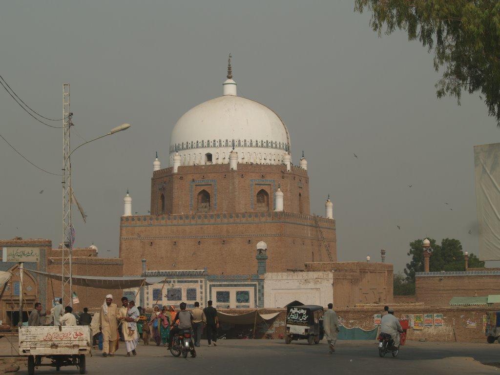 Bahauddin Zakariya Mausoleum Historical Facts And Pictures