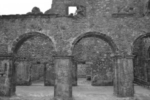 Bassein Fort Inside