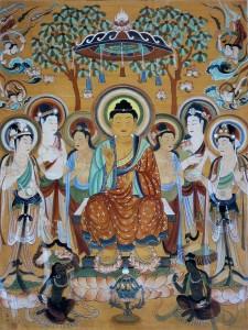 Buddha and Bodhisattvas in Mogao Caves