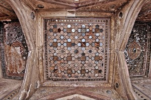 Ceiling of Naulakha Pavilion Lahore Fort
