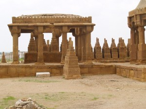 Chaukhandi Tomb Images
