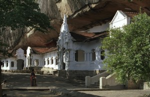 Dambulla Cave Temple Entrance
