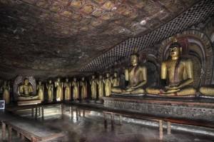 Dambulla Cave Temple Inside