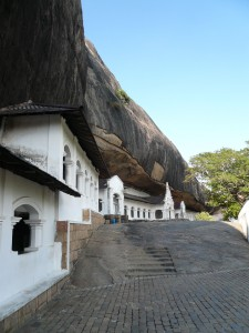 Dambulla Cave Temple Outside