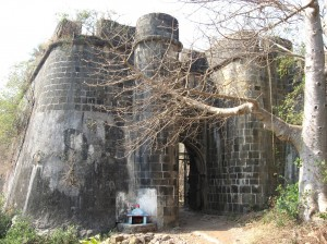 Entrance of Bassein Fort