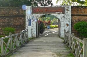 Entrance of Fort Cornwallis