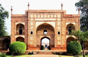 Entrance of Jahangir Tomb