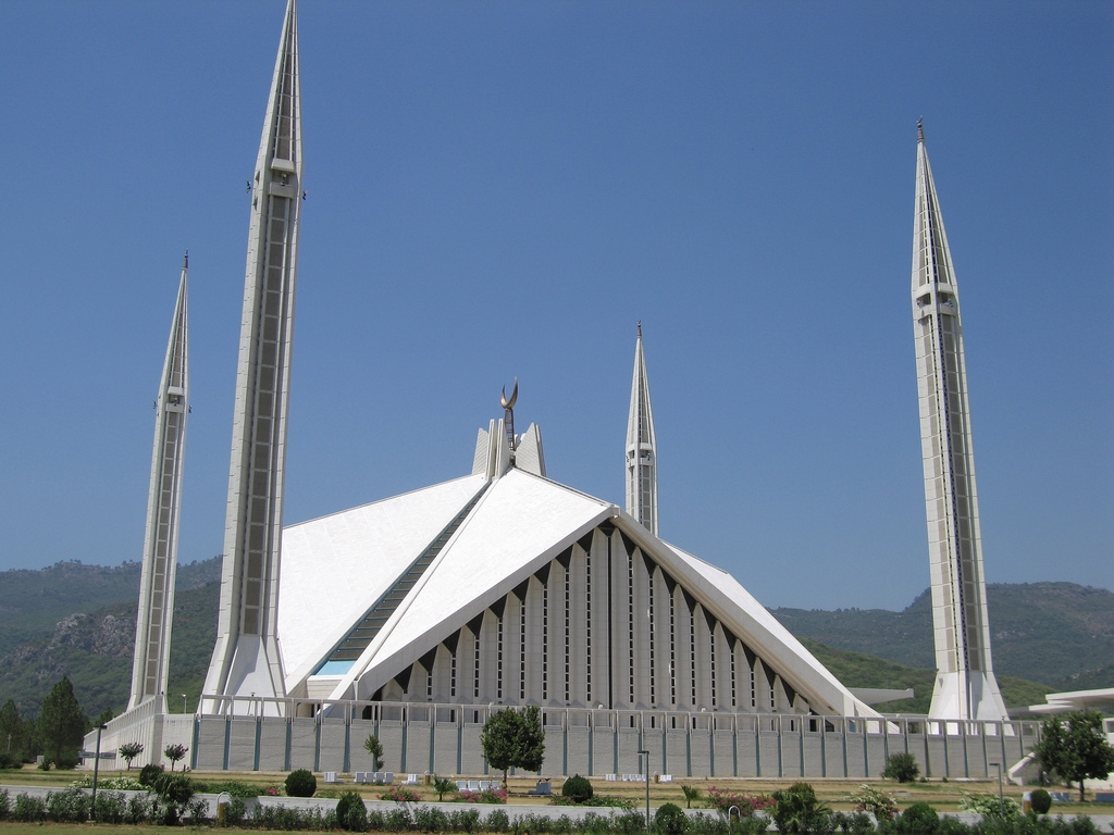 Faisal Mosque Historical Facts And Pictures