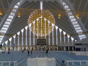 Faisal Mosque Inside