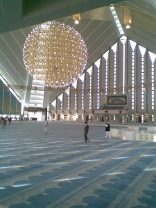Faisal Mosque Inside View