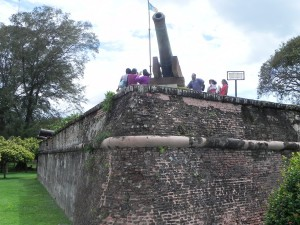 Fort Cornwallis Inside
