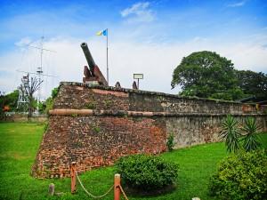 Fort Cornwallis Inside View