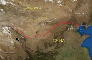 Great Wall of China Map