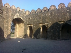 Inside Rohtas Fort