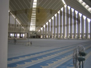Inside View Faisal Mosque