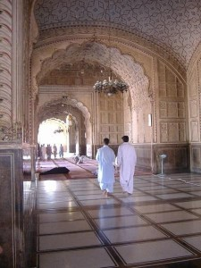 Inside View of Badshahi Mosque