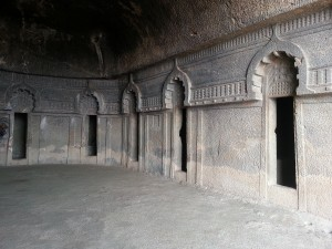Inside View of Bedse Caves