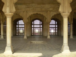 Inside View of Lahore Fort