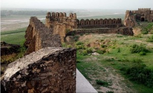 Inside View of Rohtas Fort